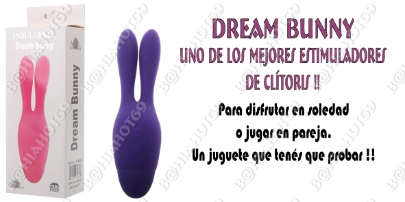 Estimulador de clitoris dream bunny
